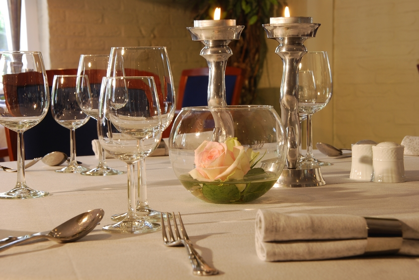 Culinair arrangement - Hotel Restaurant De Meulenhoek