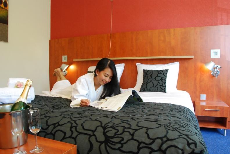 Luxe bed - tweepersoonskamer Hotel De Meulenhoek