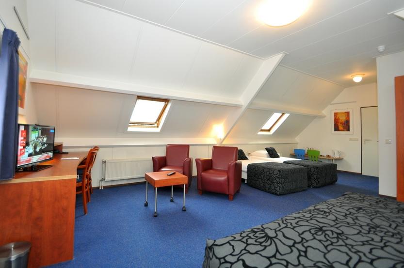 Familiekamer - 4 persoonskamer - Hotel De Meulenhoek